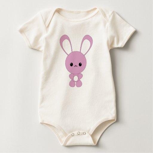 Cute kawaii purple bunny t-shirt