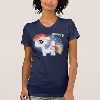 Cute kawaii rainbow pony tshirt