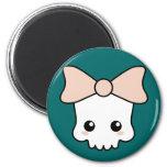 Cute Kawaii Skull Fridge Magnet
