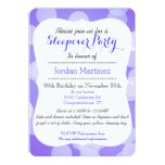Cute Kawaii sleeping red fox sleepover party Personalized Announcements