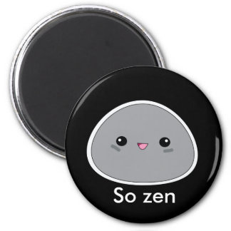 Cute kawaii So zen zen garden stone magnet