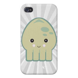 cute kawaii squid iPhone 4 cover