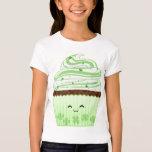 Cute kawaii St Patricks day cupcake T-Shirt