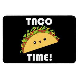 Cute kawaii Taco Time! Magnet