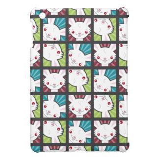 Cute Kawaii Vampire Bunny Rabbit Pattern iPad Mini Case