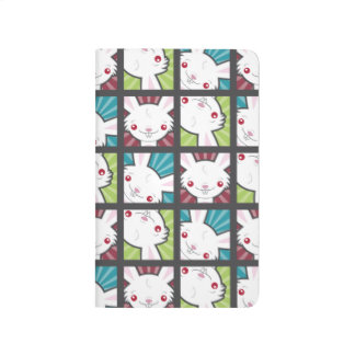 Cute Kawaii Vampire Bunny Rabbit Pattern Journals