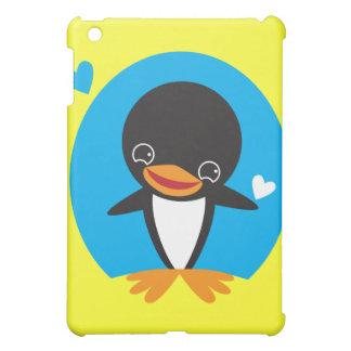 Cute Kawaii winter Penguin iPad Mini Cover