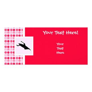 Cute Kayaking Rack Card