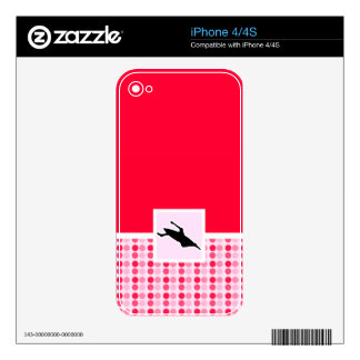 Cute Kayaking Decals For iPhone 4S