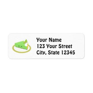 Cute Key Lime Pie Label