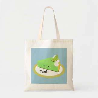 Cute Key Lime Pie Tote Bag