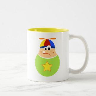 Cute Kid Cartoon Coffee Mug