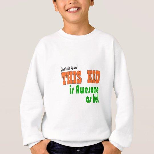 Cute kid clothes sweatshirt
