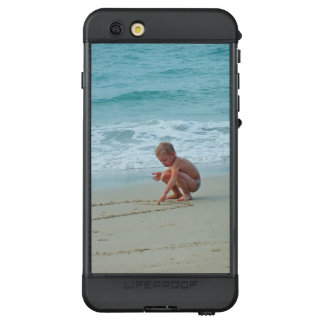 Cute Kid in Tropical Beach with Turquoise Water LifeProof NÜÜD iPhone 6s Plus Case