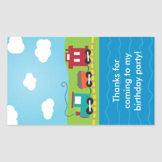 Cute Kid s Choo Choo Train Stickers