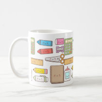 Cute Kids Back to School Supplies Mug