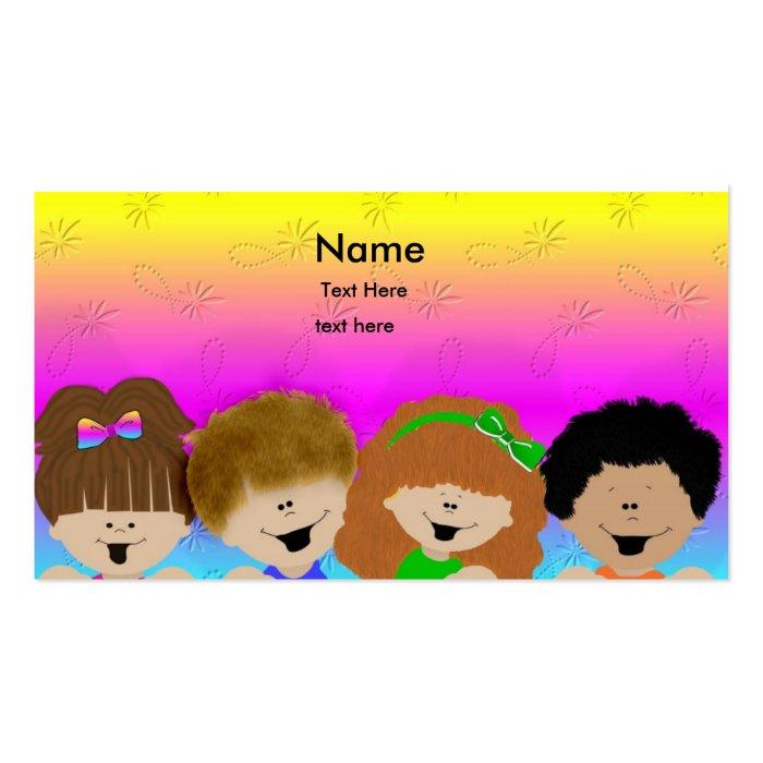 Cute Kids Business Card : Zazzle