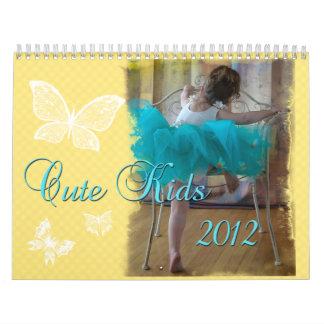Cute Kids Calendar 2012