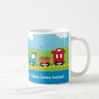 Cute Kid's Choo Choo Train Coffee Mug
