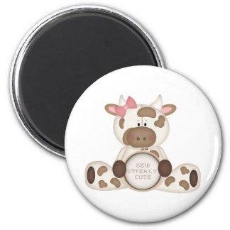 Cute Kids Cow Gift Fridge Magnet
