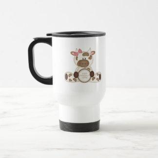 Cute Kids Cow Gift Travel Mug