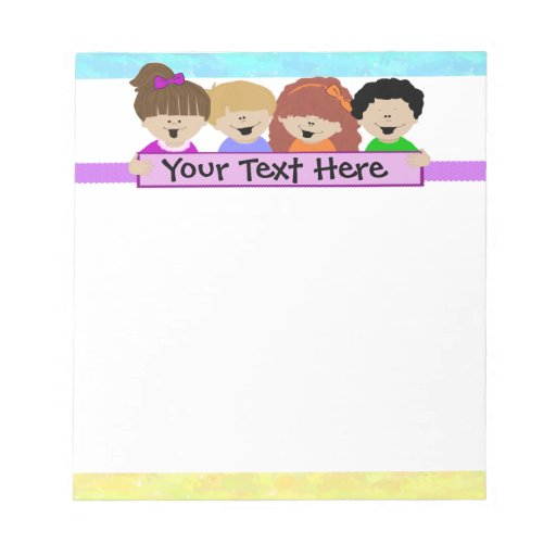 Cute Kids Daycare Notepad