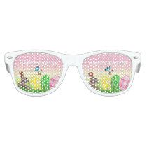 Cute Kids Easter Print Party Shades
