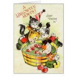 Cute  Kids Halloween Card