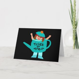 Cute Kids Halloween Cards