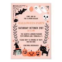 Halloween Invitations<