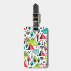 Cute Kids Owl Luggage Tag at Zazzle