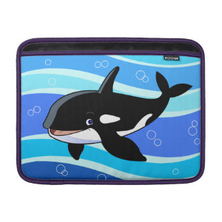 cute killer whale MacBook air sleeve