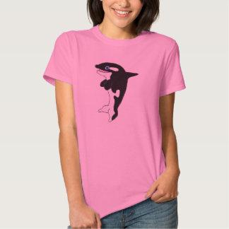 Cute killer whale t shirts