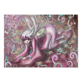 Cute Kimono Fairy Card