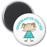 Cute Kindergarten Teacher Fridge Magnet
