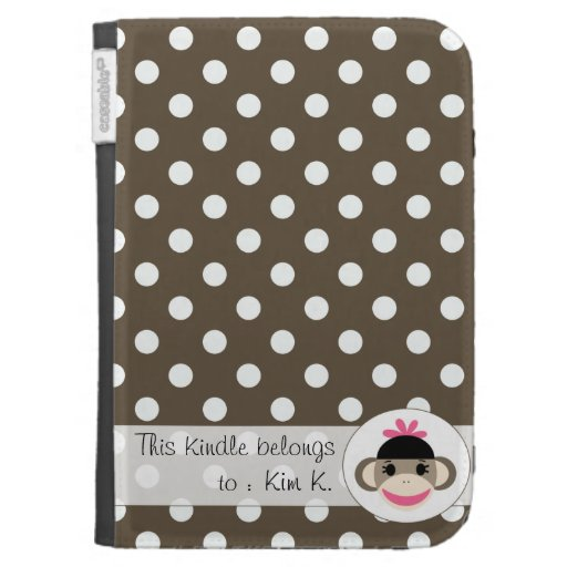 Cute Kindle Cases By The Sock Monkey Shoppe