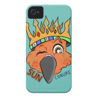 Cute King Sun Conure Parrot Wink Case-Mate iPhone 4 Case