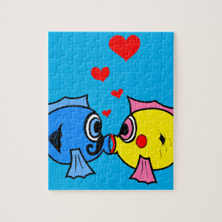 Cute Kissing Fish Puzzle