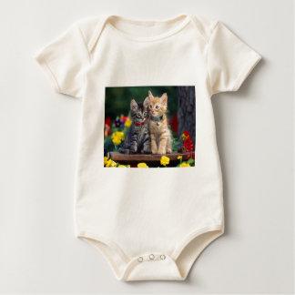 Cute-Kitten Baby Bodysuit