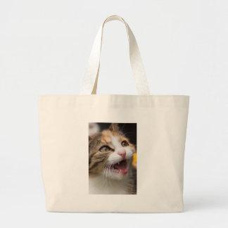 Cute Kitten Tote Bags