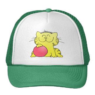 Cute Kitten Bowler Trucker Hat