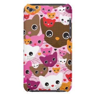 Cute kitten cat pattern ipod case