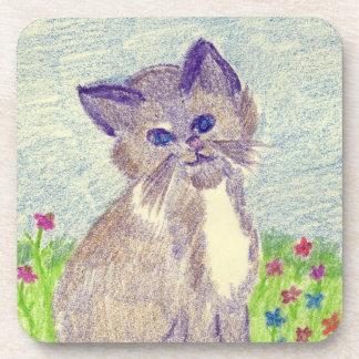 Cute Kitten Coaster