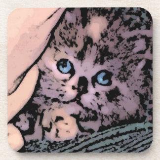 Cute Kitten Coasters
