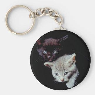 Cute Kitten Duo Keychains