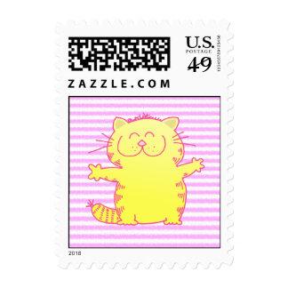 Cute-Kitten-Hug Stamp