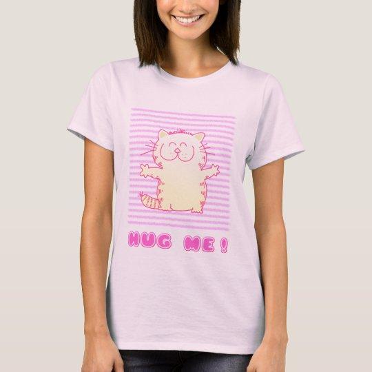 Cute Kitten Hug T-Shirt
