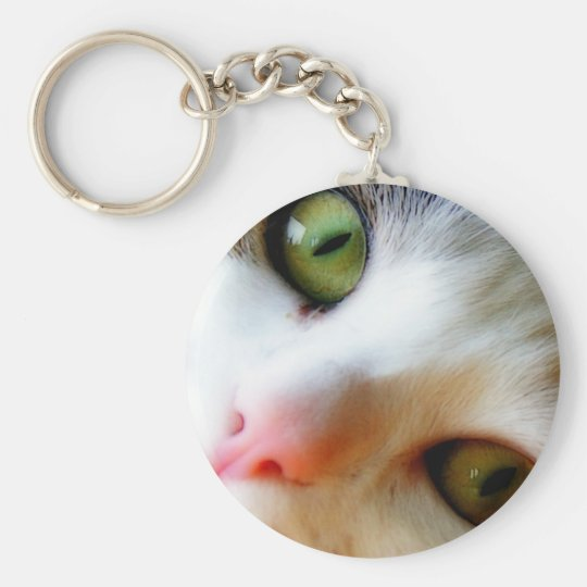 Cute kitten keychain