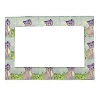 Cute Kitten Magnetic Photo Frame