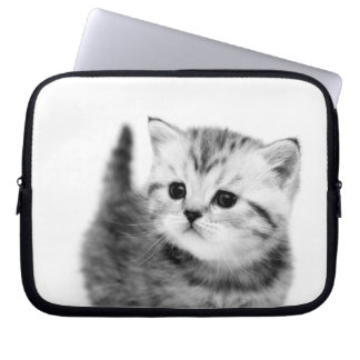 Cute Kitten Neoprene Laptop Sleeve
